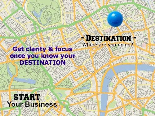 Visualize your destination so you know where you are going!
