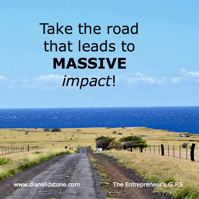 The more profitable your business, the more impact you can have!