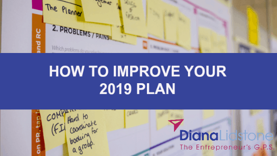 How to improve your 2019 plan for your small biz