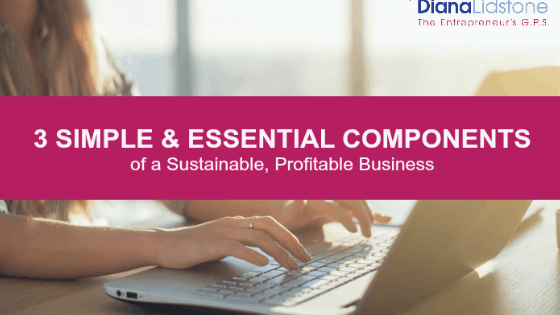 3 Simple Components Essential to your profitable business