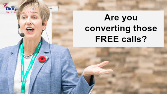 Are your FREE calls converting into clients?