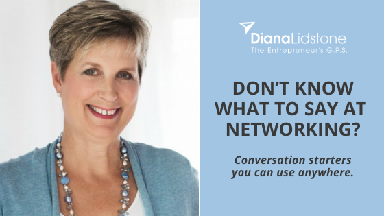 Don't Know What to Say at Networking?